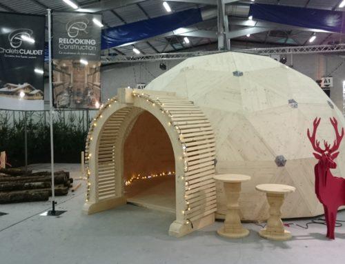 Des igloos en bois